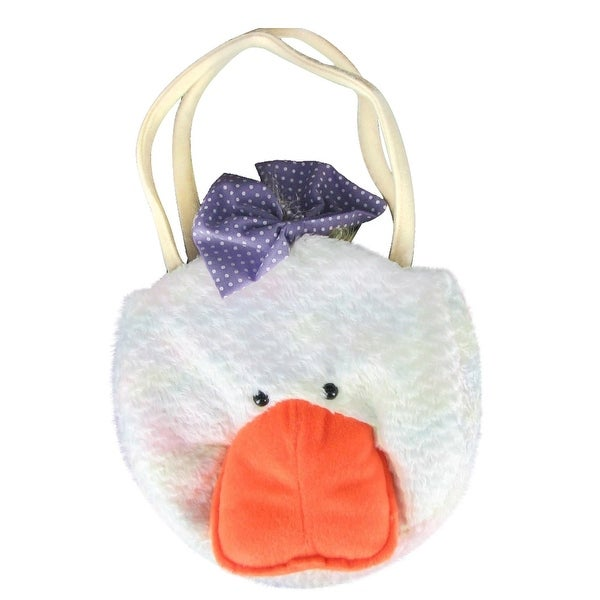 Plush Duck Little Girl Handbag Purse by Gitzy