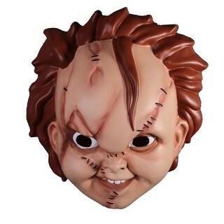 Bride of Chucky Adult Size Chucky Mask - Multi