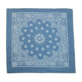 CTM® 100% Cotton Stonewash Bandana - One Size