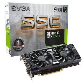 EVGA GeForce GTX 1050 Ti SSC GAMING ACX 3.0, 4GB GDDR5, DX12 OSD Support (PXOC) Graphics Card 04G-P4-6255-KR
