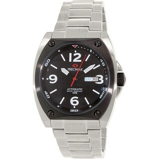 Precimax Men's Fortis Automatic PX13209 Silver Stainless-Steel Dress Watch|https://ak1.ostkcdn.com/images/products/is/images/direct/ced5daba535fc399c0fe356fe3bbd1c64fb87643/Precimax-Men%27s-Fortis-Automatic-PX13209-Silver-Stainless-Steel-Dress-Watch.jpg?_ostk_perf_=percv&impolicy=medium