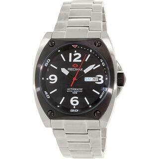 Precimax Men's Fortis Automatic PX13209 Silver Stainless-Steel Dress Watch|https://ak1.ostkcdn.com/images/products/is/images/direct/ced5daba535fc399c0fe356fe3bbd1c64fb87643/Precimax-Men%27s-Fortis-Automatic-PX13209-Silver-Stainless-Steel-Dress-Watch.jpg?impolicy=medium