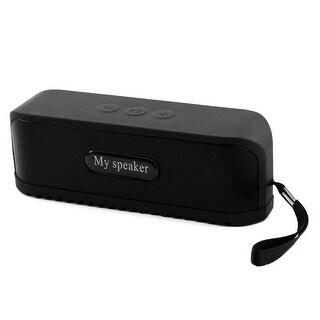 Deep Bass 2.4G Wireless bluetooth Speaker Stereo Loudspeaker Speakerphyone Black