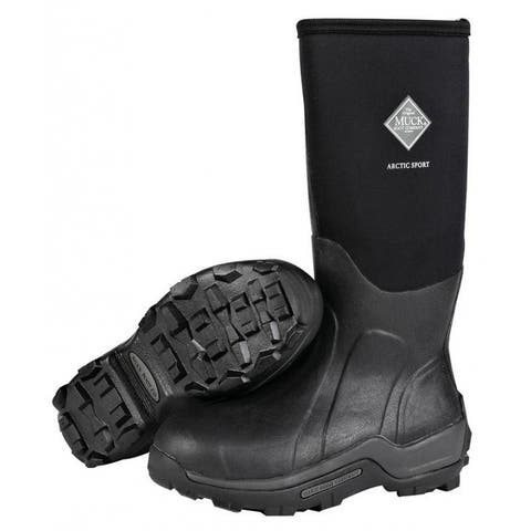Muck Boot ASP000A-12 Arctic Sport Hi Boot, Black, Unisex - 12 Men/13 Women