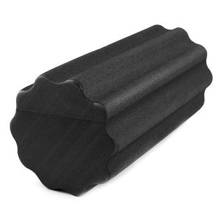 Gym Fitness Yoga Pilates Exercise Trigger Point Muscle Massage Foam Roller Black