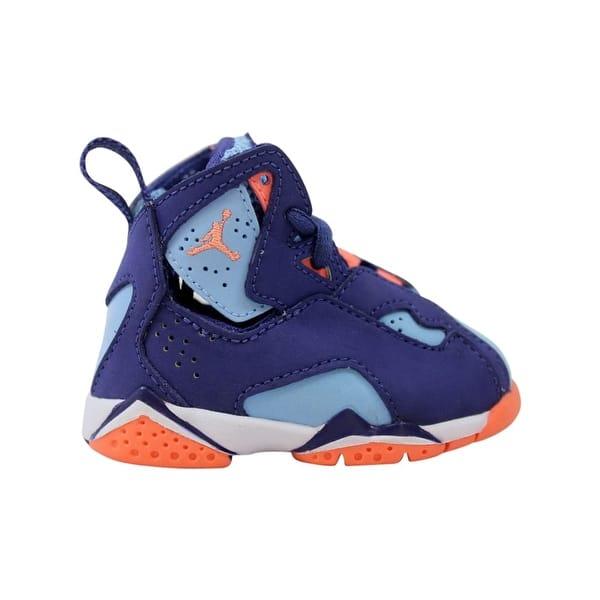 72c6b74c6eb Nike Air Jordan True Flight GT Dark Purple Dust/Atomic Pink Toddler  645071-500