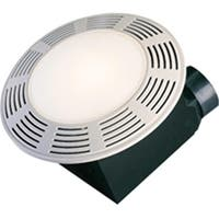 America  Deluxe Round Exhaust Fan With Night Light, 100 Cfm