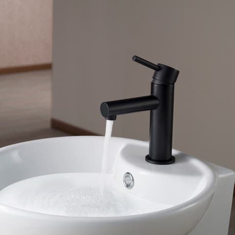 Solid Brass Leed Free Single Handle Bathroom Faucet
