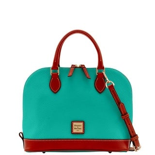 Dooney & Bourke Pebble Grain Zip Zip Satchel (Introduced by Dooney & Bourke at $198 in Jan 2015) - Spearmint