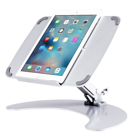 Gymax Portable Laptop Notebook Stand Aluminum Laptop Holder MacBook Cooling Stand