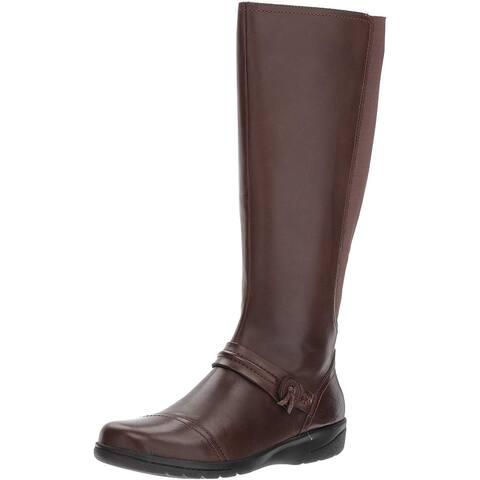 CLARKS Women's Cheyn Whisk Riding Boot