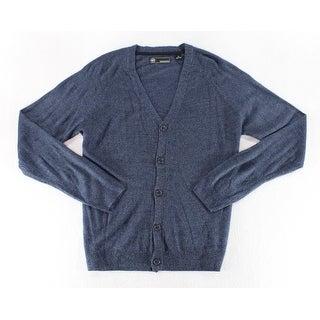 Weatherproof Blue Mens Size XL Button Down Cardigan Sweater