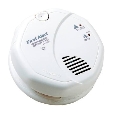 First Alert SC7010BV Smoke & Carbon Monoxide Alarm With Voice, 120 Volt