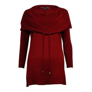 Cable & Gauge Women's Drawstring Cowl Tunic Sweater https://ak1.ostkcdn.com/images/products/is/images/direct/cedb6c92dca0f2c9fc880b011ed51ec66798f330/Cable-%26-Gauge-Women%27s-Drawstring-Cowl-Tunic-Sweater.jpg?impolicy=medium