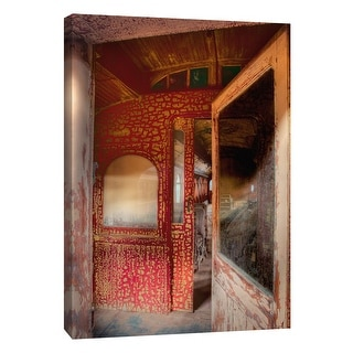 """PTM Images 9-105374  PTM Canvas Collection 10"""" x 8"""" - """"Trolley 6"""" Giclee Transportation Art Print on Canvas"""