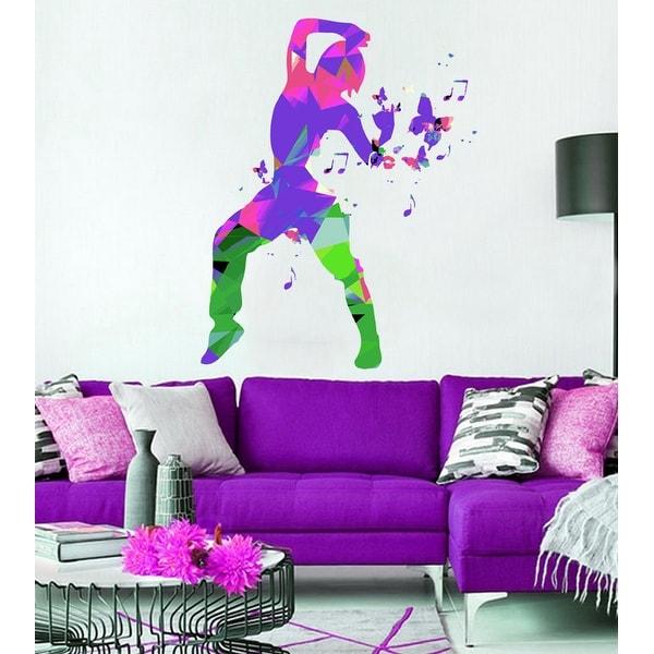 Dancer Wall Decal, Dancer Wall sticker, Dancer wall decor, Dancer Wall Art. Opens flyout.