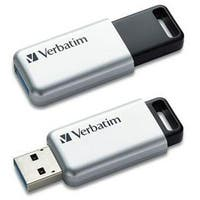Verbatim 16Gb Store 'N' Go Secure Pro Usb 3.0 Flash Drive With Aes 256 Hardware Encryption 98664