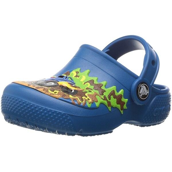 Shop Crocs Kids  Fun Lab Boys Graphic Clog - Free Shipping On Orders ... c24c7e309a8