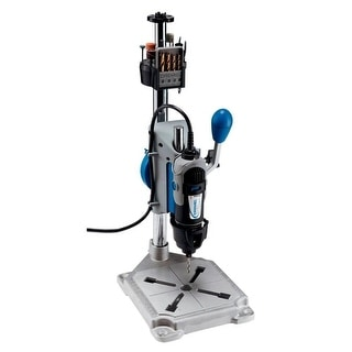 Dremel 220-01 Rotary Tool Work Station, Sturdy Metal Base with 4 Clamping Points - multi