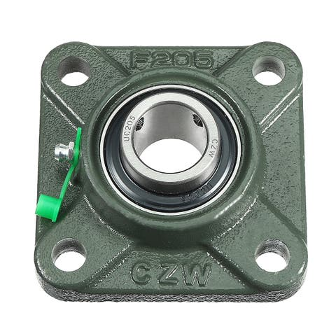 Pillow Block Cast Bearing UCF205 25mm Mounted Bear Square Flange