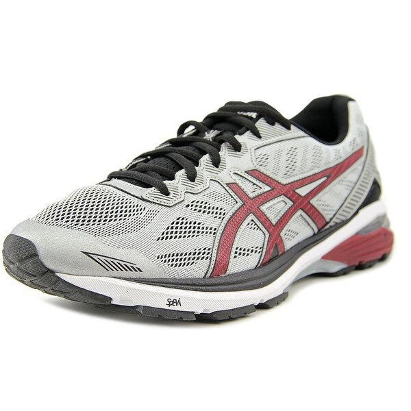 Asics GT-1000 5 Men Round Toe Synthetic Gray Running Shoe