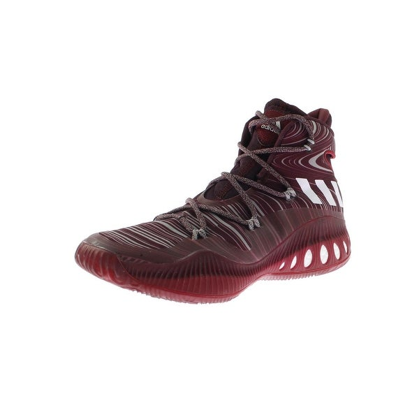 5975b4f3c15 Adidas Mens Crazy Explosive Basketball Shoes High-Top Printed - 9 medium (d)