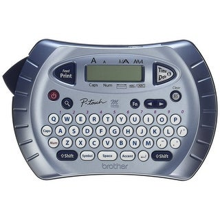 Brother Pt 70Bm P Touch Personal Electronic Handheld Label Maker With  Two Line