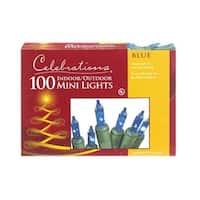 Celebrations 4004-71 100 Mini Blue Light Set