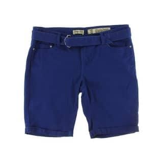 Indigo Rein Womens Juniors Bermuda, Walking Shorts Twill Cuffed - 0|https://ak1.ostkcdn.com/images/products/is/images/direct/cee0a238672a2622f3a45c134759339fae614354/Indigo-Rein-Womens-Juniors-Bermuda%2C-Walking-Shorts-Twill-Cuffed.jpg?impolicy=medium