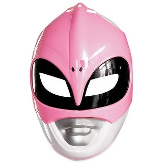 Disguise Mighty Morphin Pink Ranger Vacuform Adult Mask
