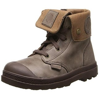 Palladium Pampa High Toddler Leather Casual Boots - 4 medium (d)