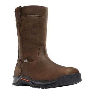 "Danner Men's Crafter Wellington 11"" Work Boot Brown Full Grain Leather"