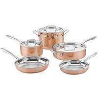 Cuisinart CTPP-8 Cuisinart Tri-Ply Copper Cookware Set (8-Piece)