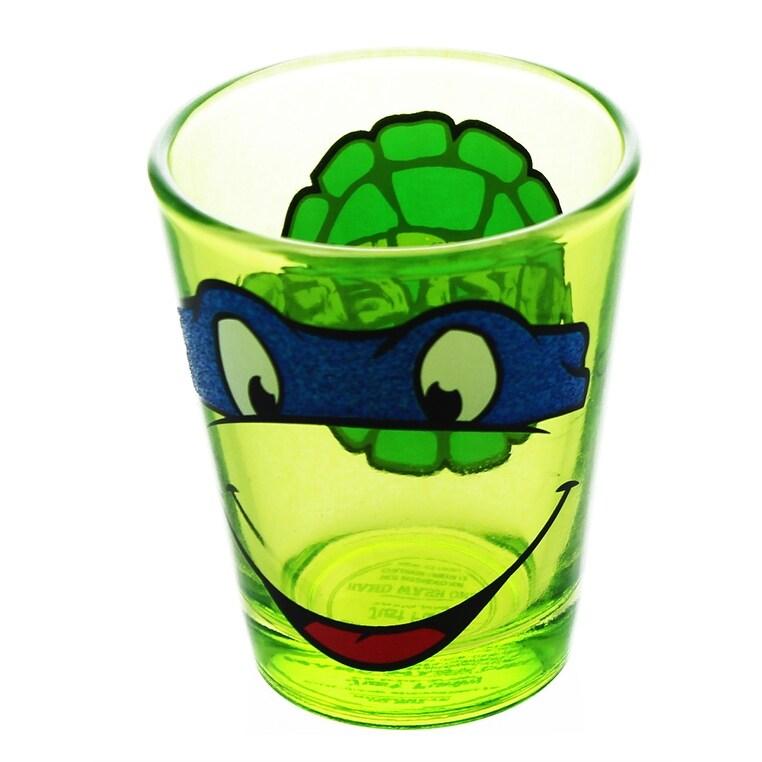 Shop Teenage Mutant Ninja Turtles Leonardo Shot Glass Multi Overstock 13726717