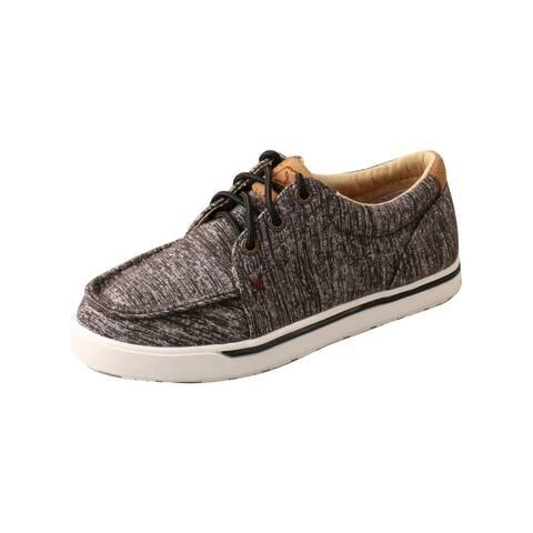 Twisted X Casual Shoes Boys Kicks Wool C Toe Dark Gray