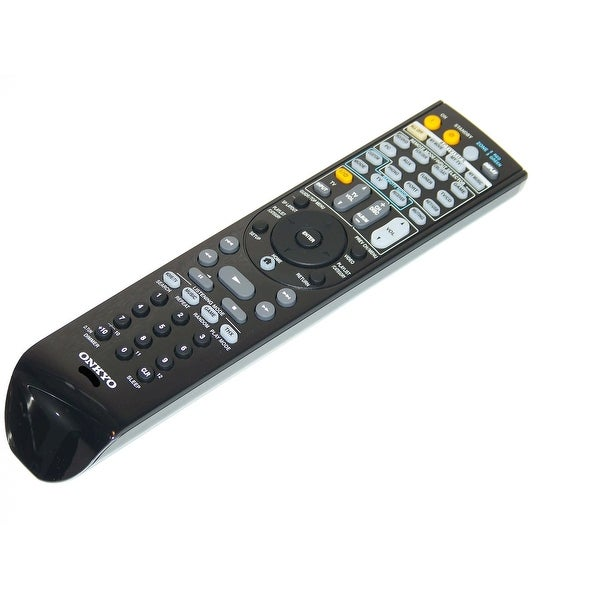 OEM Onkyo Remote Control Originally Shipped With: TX-NR1008, TXNR1008, TX-NR808, TXNR808