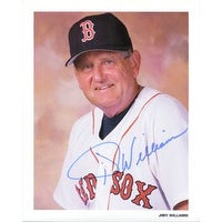 Signed Williams Jimy Boston Red Sox 8x10 autographed