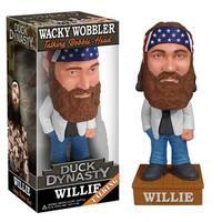Duck Dynasty Willie Robertson Talking Wacky Wobbler - multi