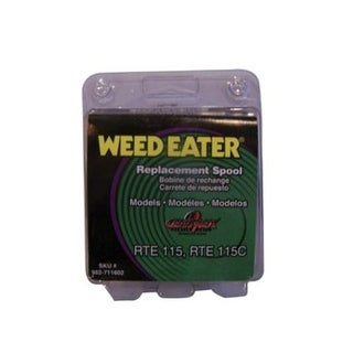 "Weed Eater 952711602 Electric Trimmer Replacement Spool, 0.065"" x 25'"