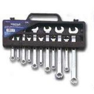 Mintcraft TR-H1101 Metric Combo Wrench Set, Storage Case, 11 Piece