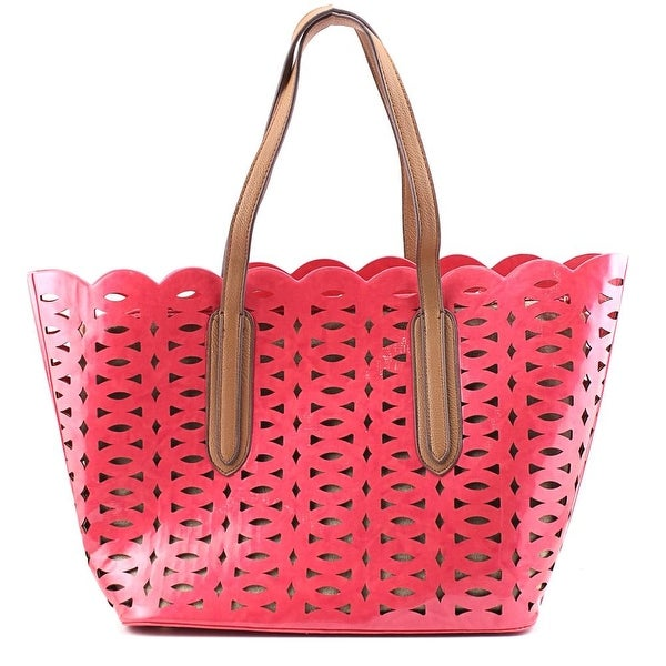SR Squared by Sondra Roberts AC23875 Women Synthetic Pink Tote