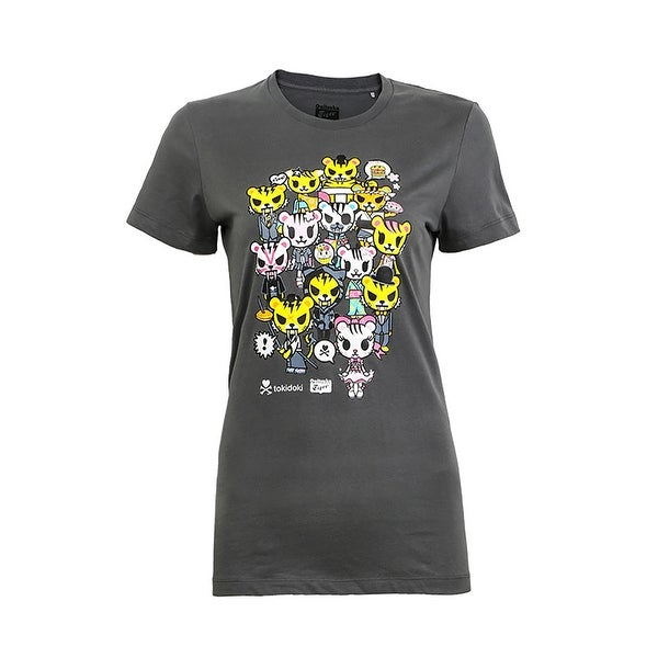 premium selection 0df12 be67c Onitsuka Tiger Women's Tokidoki Party Tee Steel Grey S