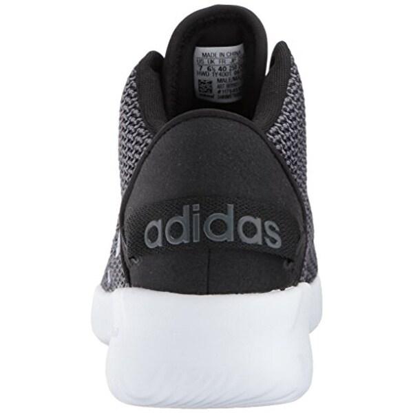 Shop adidas NEO Men's CF Refresh Mid Basketball Shoe black