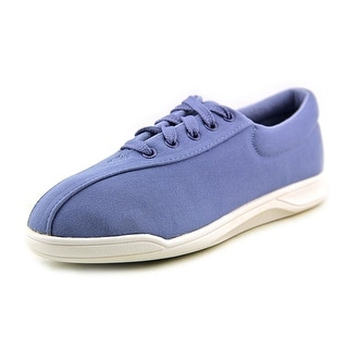 Easy Spirit Active AP1 Women 3A Round Toe Canvas Blue Sneakers