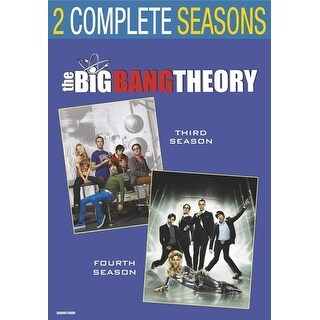 Big Bang Theory: Season 3 & Season 4 [DVD]