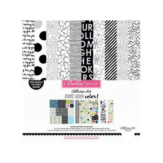 Bella Blvd JustColor Collection Kit 12x12