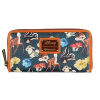 Loungefly x Disney Bambi And Friends Zip Around Wallet - One Size Fits most