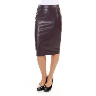 Womens Purple Casual Skirt Size 2XS