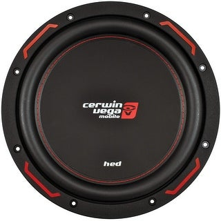 """Cerwin Vega Hed Mobile 1000W Max 10"""" Svc 4Ohm / 200W Rms"""