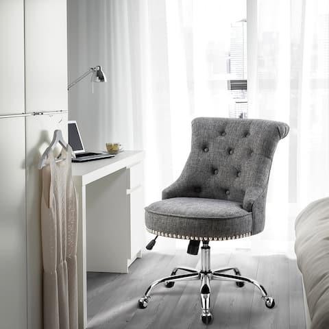 Furniture R Mid-Century Modern Upholstered Task Chair